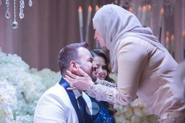 foto majlis resepsi sharnaaz ahmad dan isteri di penang 9