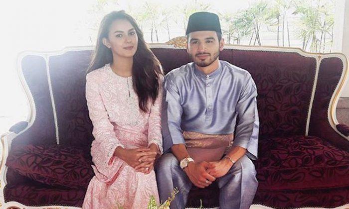 foto mesra juliana evans dan suami tengku shariffuddin jadi tular