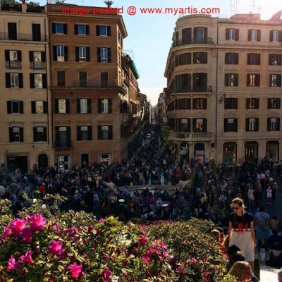 foto percutian bulan madu sharnaaz ahmad dan noor nabila di itali 14