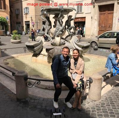 foto percutian bulan madu sharnaaz ahmad dan noor nabila di itali 7