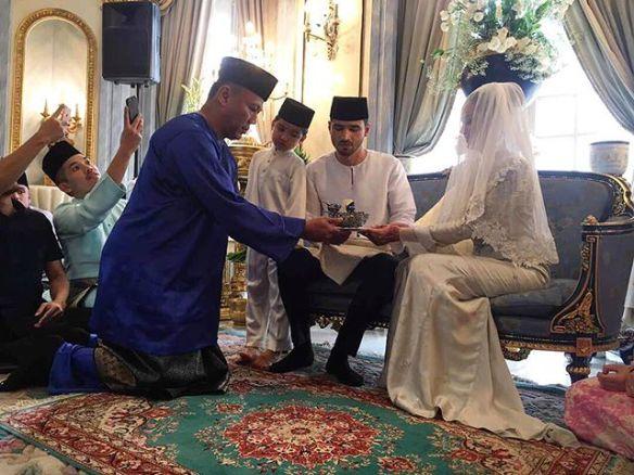 foto sekitar majlis akad nikah juliana evans dan tengku sharifuddin 1