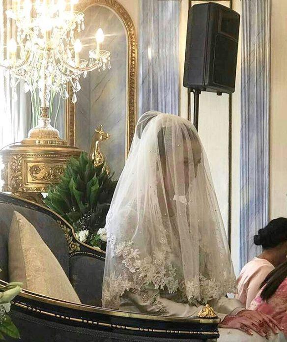 foto sekitar majlis akad nikah juliana evans dan tengku sharifuddin 2