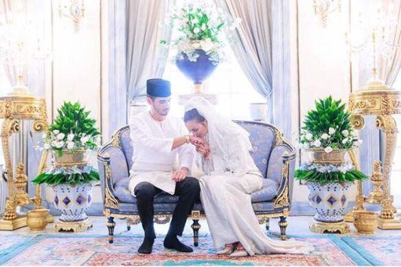 foto sekitar majlis akad nikah juliana evans dan tengku sharifuddin 3