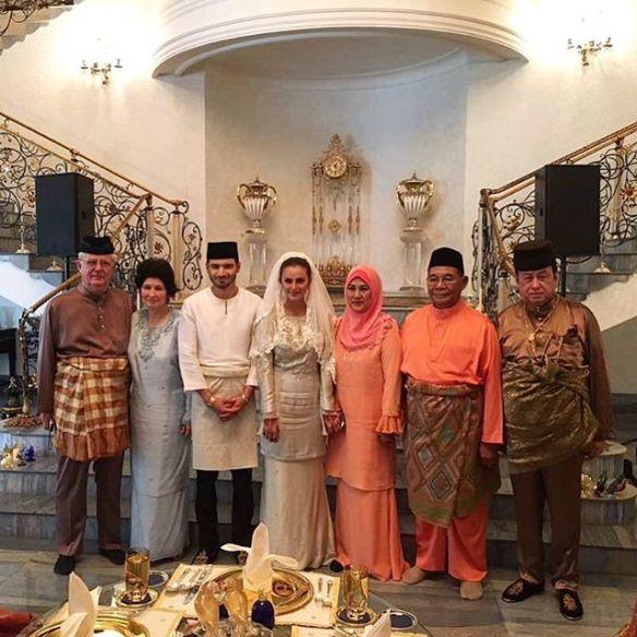 foto sekitar majlis akad nikah juliana evans dan tengku sharifuddin 5