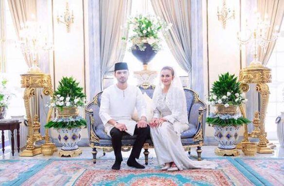 foto sekitar majlis akad nikah juliana evans dan tengku sharifuddin