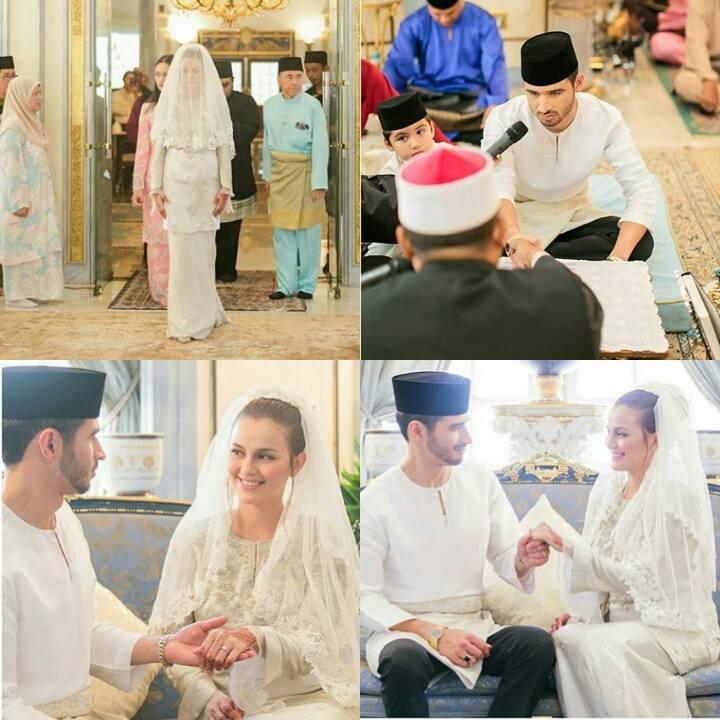 foto sekitar majlis pernikahan juliana evans dan y a m tengku shariffuddin shah 2