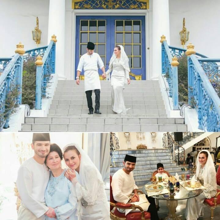foto sekitar majlis pernikahan juliana evans dan y a m tengku shariffuddin shah 3