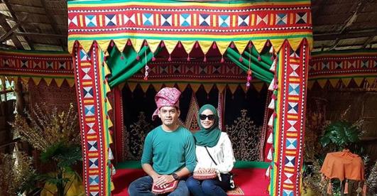 foto suami ummi nazeera lindung aurat isteri dapat pujian 4