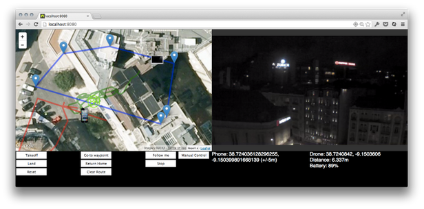 fungsi gps pada drone