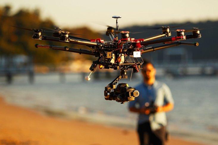 fungsi kamera pada drone