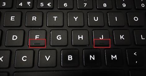 fungsi kekunci f dan j