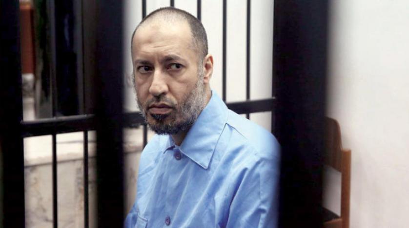 gaddafi semasa tahanan