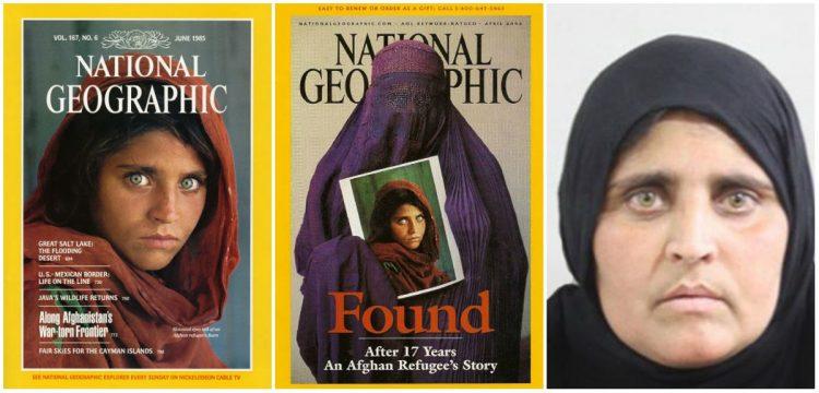 gadis afghan yang terkenal