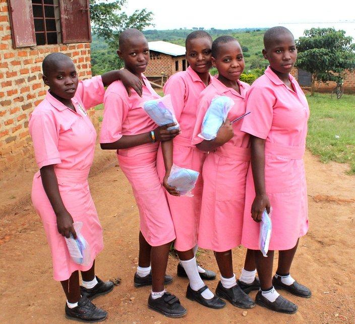 gadis afrika ketiadaan tuala wanita