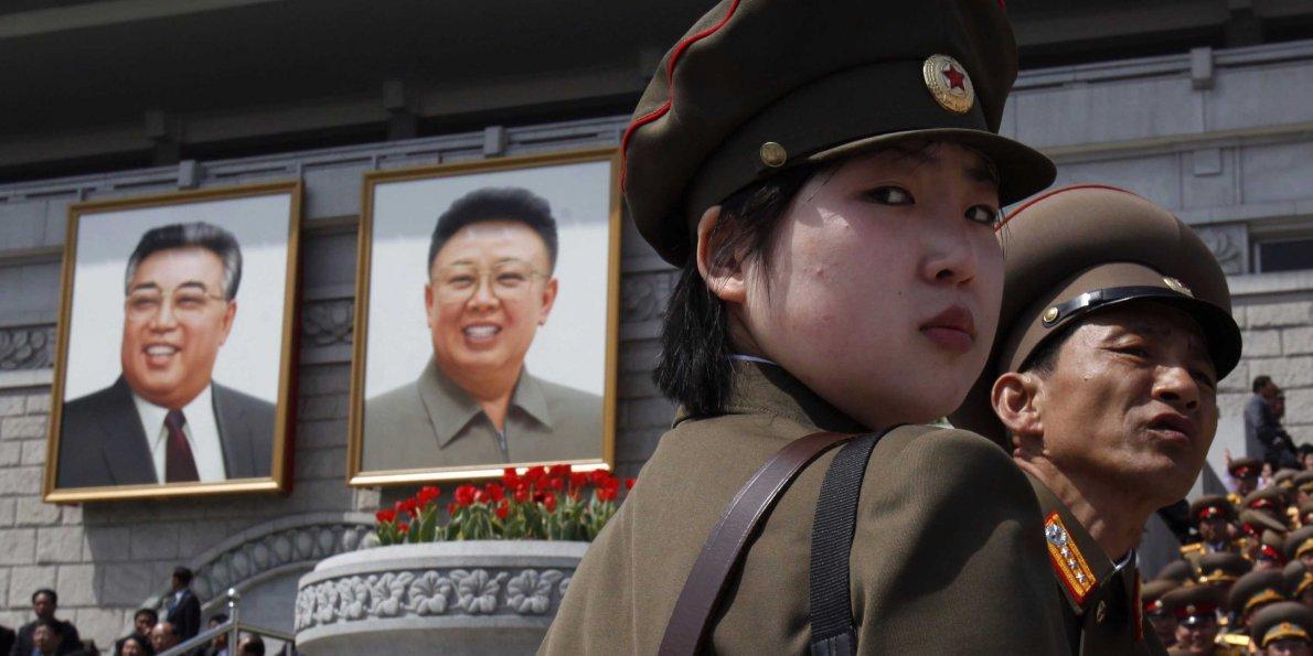 gadis korea utara
