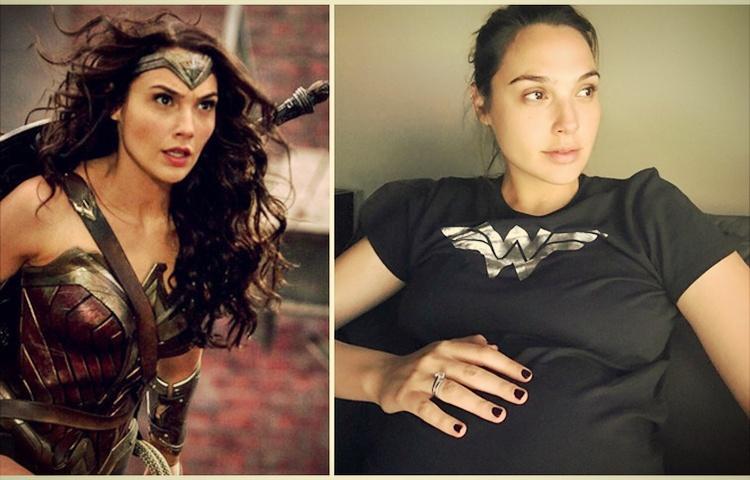 gal gadot mengandung hamil ketika melakukan penggambaran wonder woman justice league