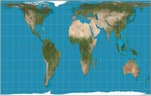gall peters peta dunia