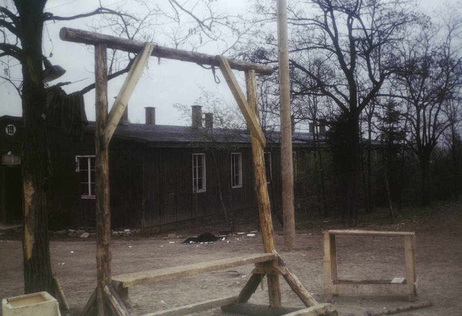 gallows at buchenwald
