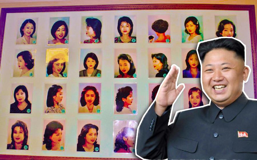 gambar haram korea utara