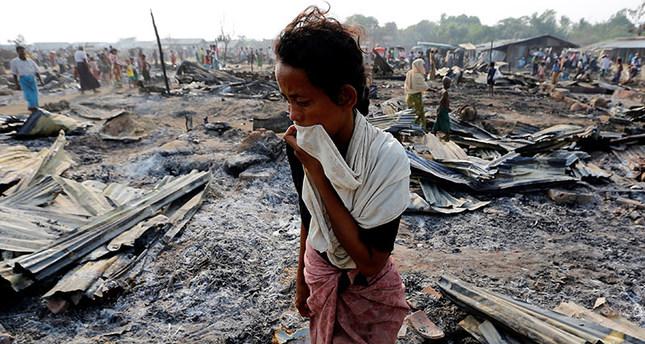 gambar pendatang rohingya