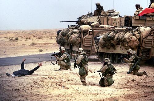 gambar perang tentera amerika teori konspirasi