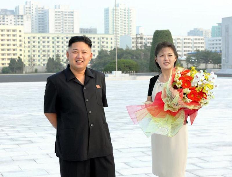 gambar perkahwinan kim jong un dan sol ju