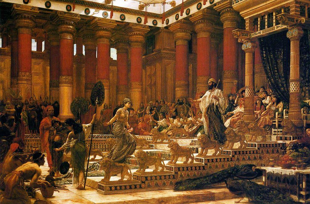 gambaran lawatan ratu balqis ketika zaman nabi sulaiman