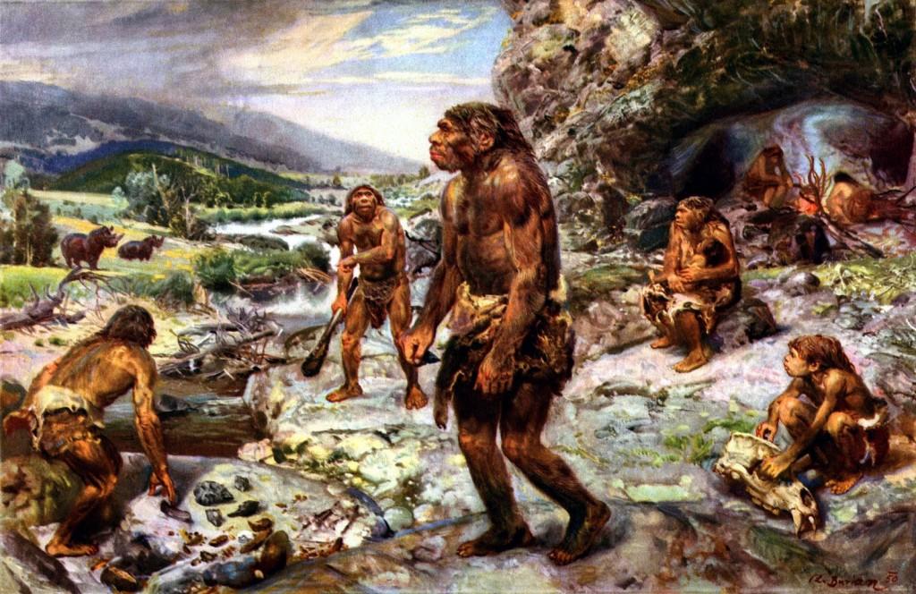 gambaran salah tentang manusia prasejarah