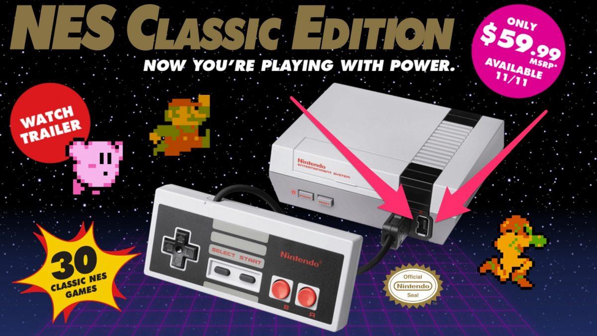 gamepad baharu nes classic edition