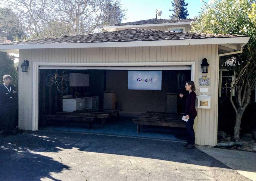 garaj asal tempat google bermula
