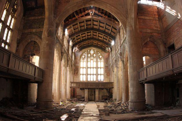 gary methodist church abandoned