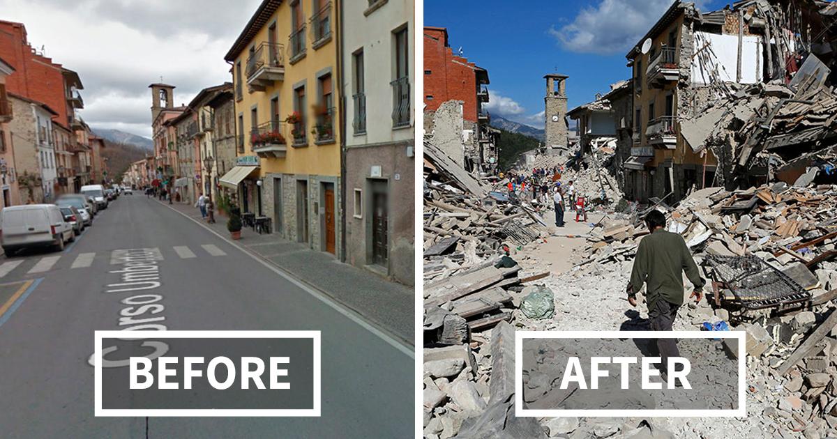 gempa bumi itali richter skala