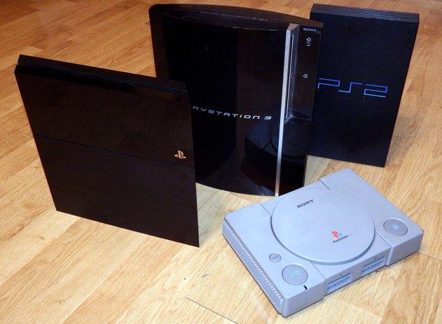 generasi playstation dari 1 hingga 4
