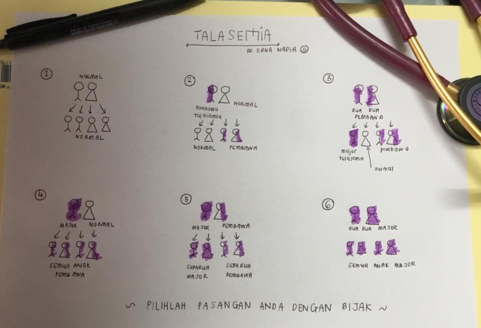 genetik thalasemia