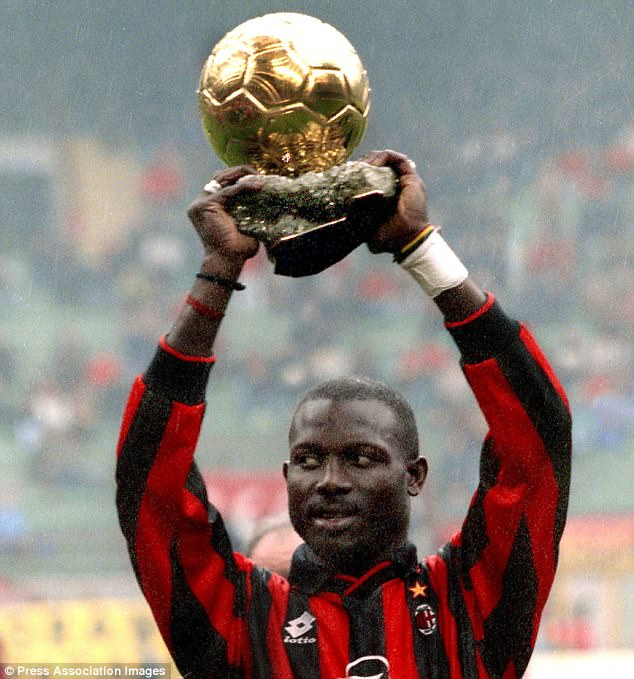 george weah ballon d or