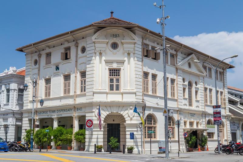 georgetown penang malaysia bangunan british kolonial