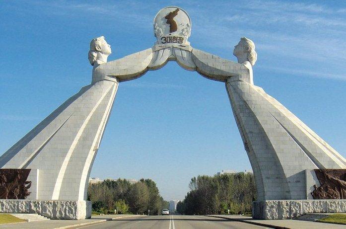 gerbang penyatuan semula korea 5 tempat pelik di korea utara 2