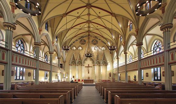 gereja dalaman