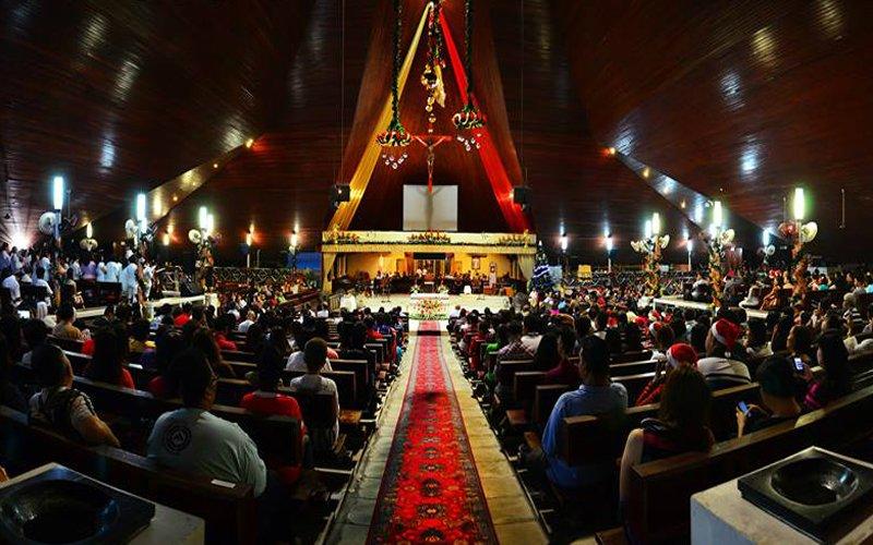 gereja saint joseph kuching sarawak