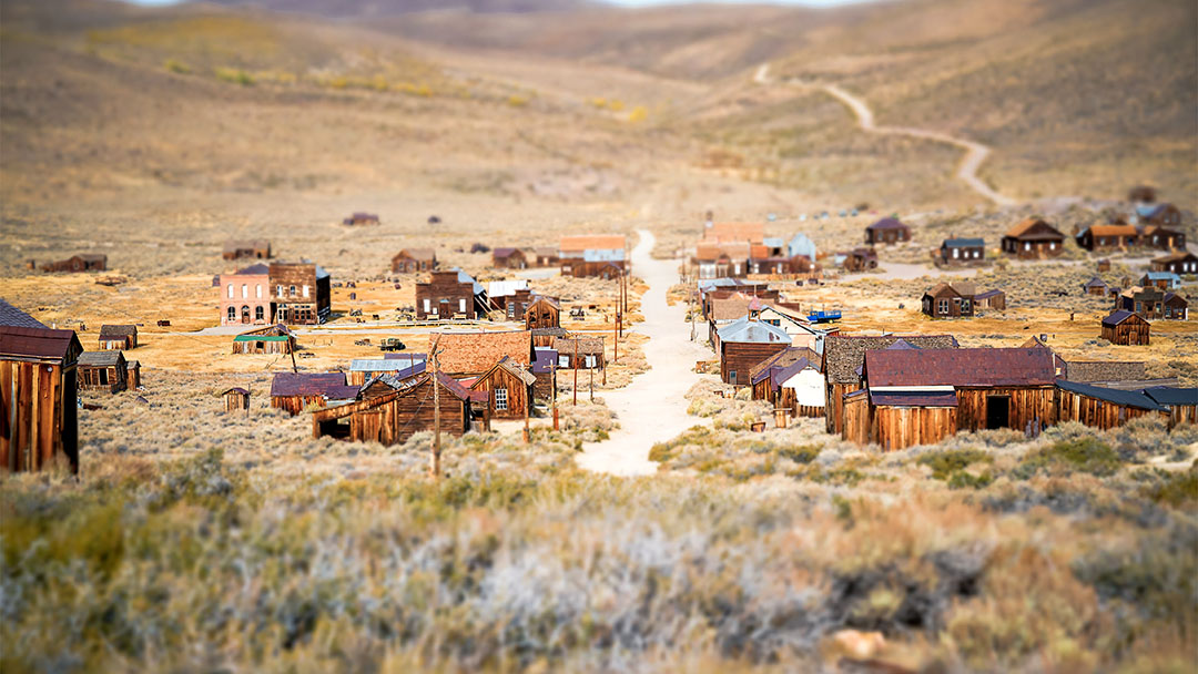 ghost town bodie california as