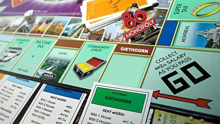 giethoorn di dalam permainan monopoly