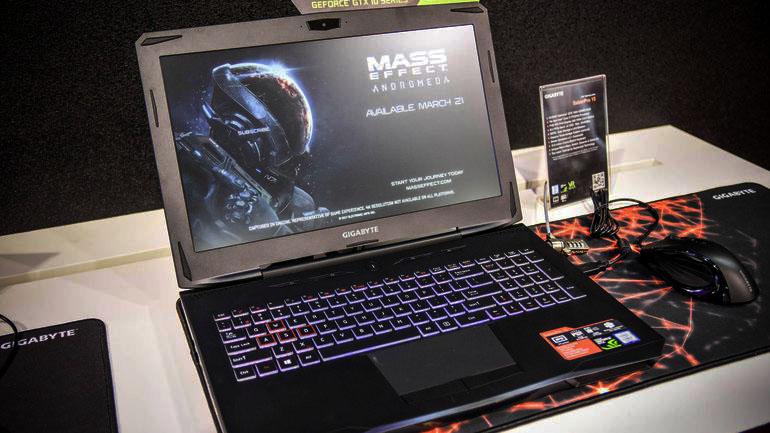 gigabyte sabrepro 15 laptop gaming paling power
