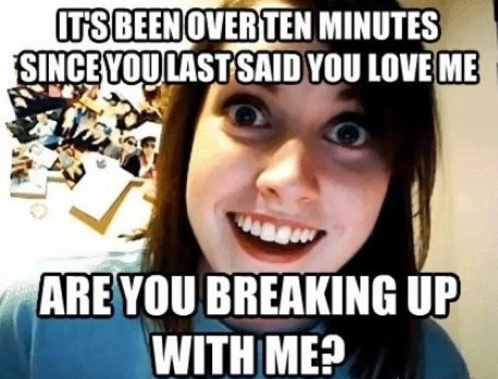 girlfriend isteri wanita clingy