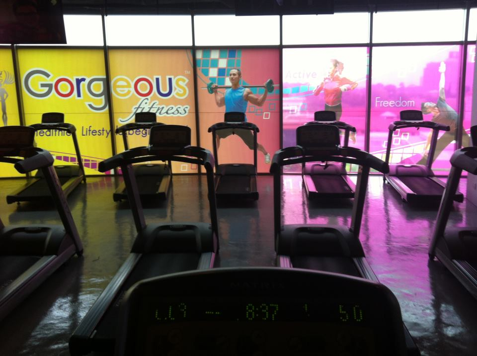 gorgeous fitness gym