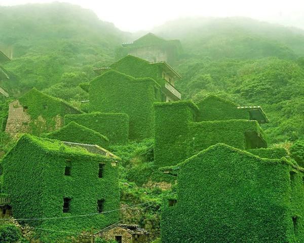 gougi island abandoned chinese village