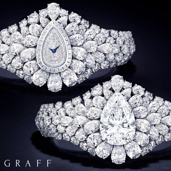 graff diamond the fascination watch and the bracelet formed by transformation