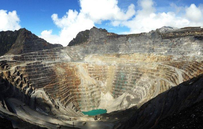 grasberg lombong emas paling besar di dunia dari segi jumlah emas