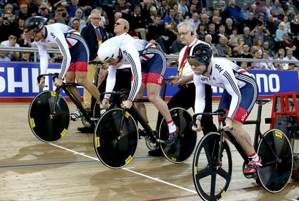 great britain mens track team sprint