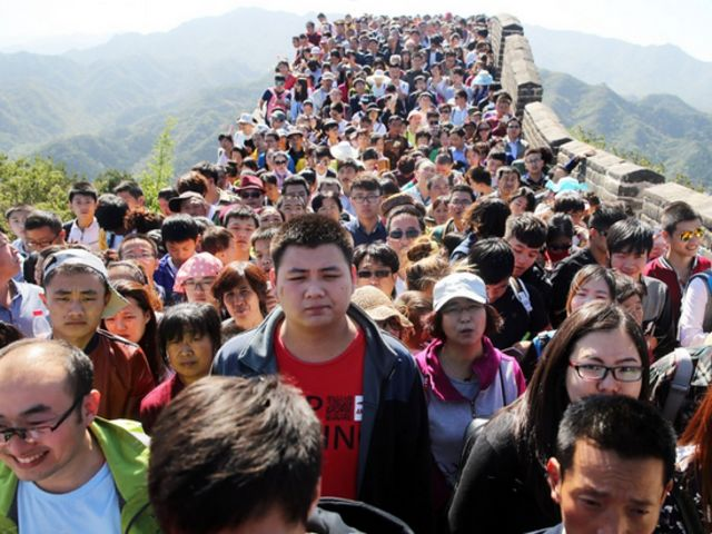great wall of china reality