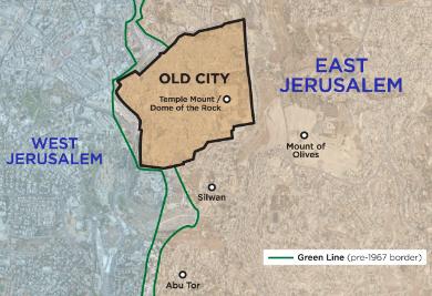 green line pembahagi jerusalem